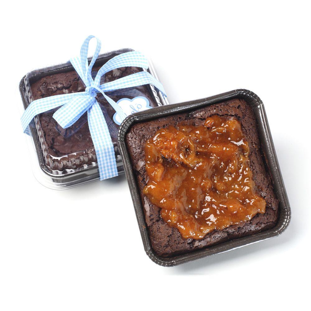 Brownie--com-damasco-